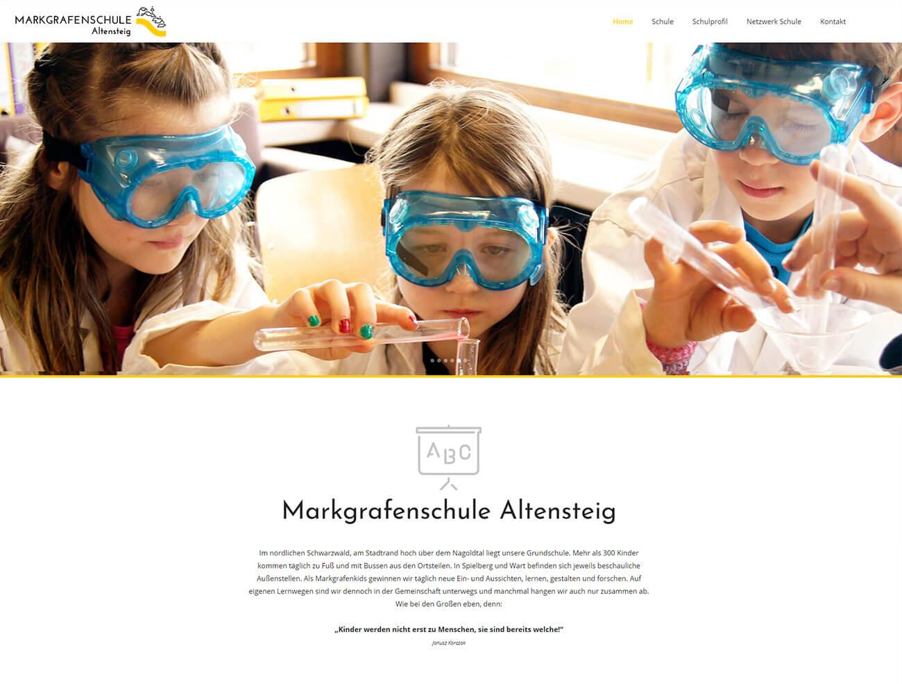 Webdesign für Schulen