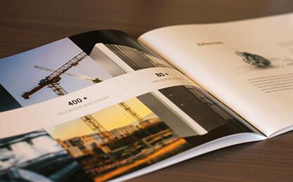 Druckdesign von Inkom Media